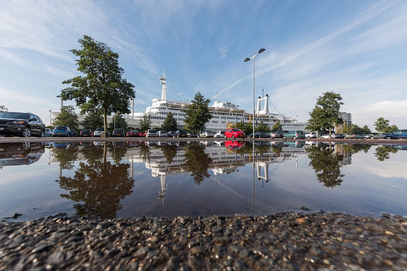 Het ss Rotterdam in Rotterdam Katendrecht van MS Fotografie | Marc van der Stelt