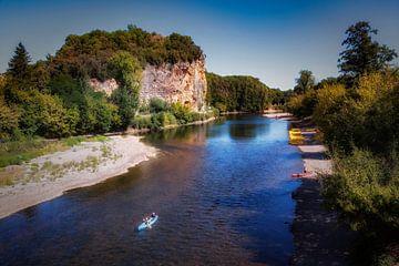 Kano op de Dordogne van Jan van der Knaap