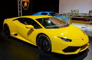 Lamborghini Huracan V10 sportwagen met middenmotor van Sjoerd van der Wal
