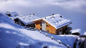 Veysonnaz Zwitserland Winter
