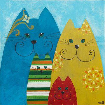 Katzen, die pfeifen von Sonja Kemp