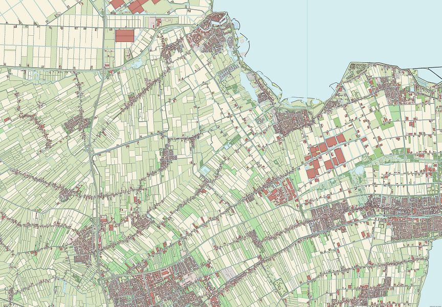 Kaart vanMedemblik