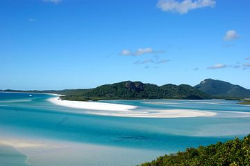 Whitehaven Beach - Whitsunday Islands van Minca de Jong