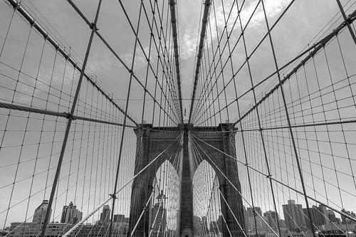 Brooklyn Bridge New York City van Dirk-Jan Van Daal