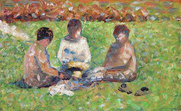 Das Picknick, Georges Seurat