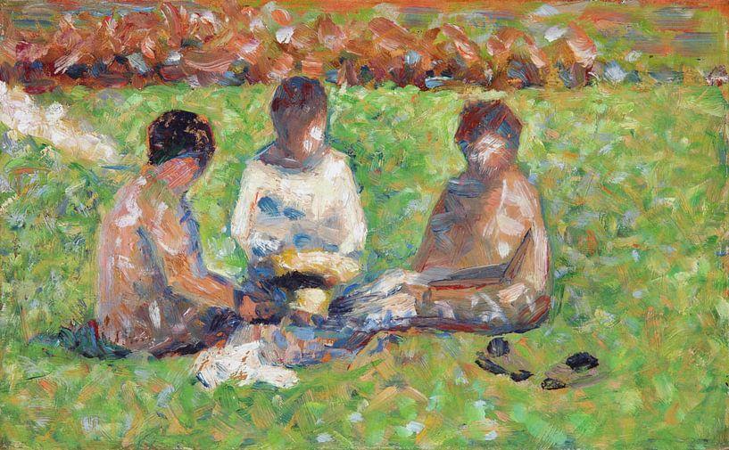 De Picknick, Georges Seurat van Meesterlijcke Meesters
