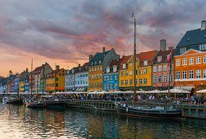 Nyhavn, Kopenhagen, Denemarken