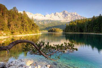 Aan de Eibsee in Beieren van Michael Valjak