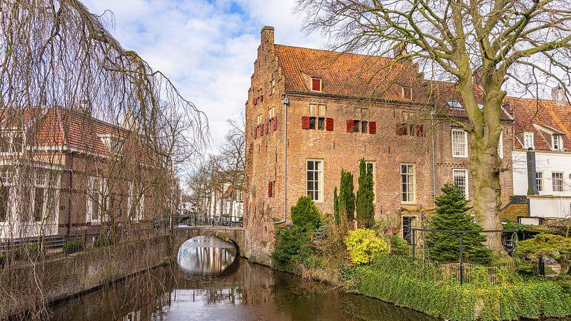 Huis op de Zuidsingel van Amersfoort (Nederland) van Jessica Lokker