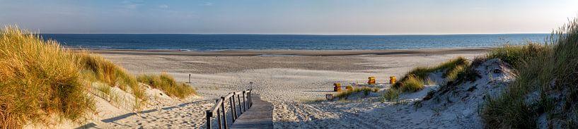 La plage sur Juist sur Dirk Rüter