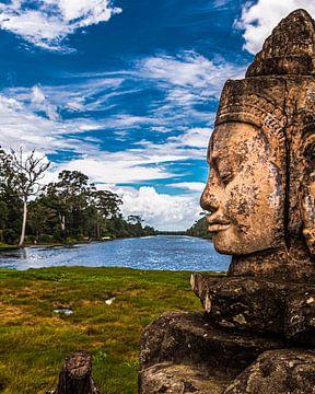 Drakenbrug Angkor Thom van Arie den Ouden