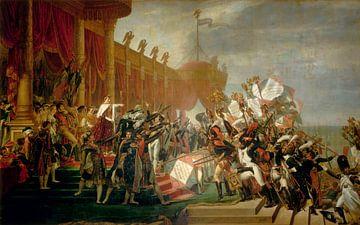 Die Armee leistet einen Eid auf den Kaiser, Jacques-Louis David