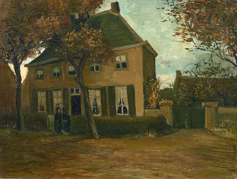 Vincent van Gogh, De pastorie te Nuenen van 1000 Schilderijen