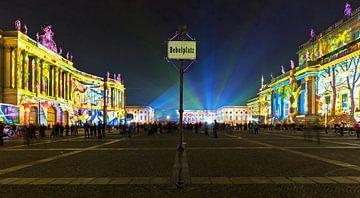 La Bebelplatz de Berlin sur Frank Herrmann