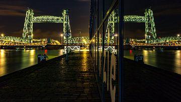 De Hef Rotterdam reflectie van Simon van Leeuwen