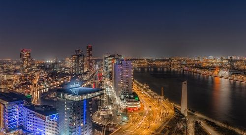Leuvehaven/Wijnhaven Rotterdam van