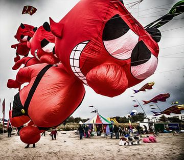 Drachenfest Fehmarn von Dirk Bartschat