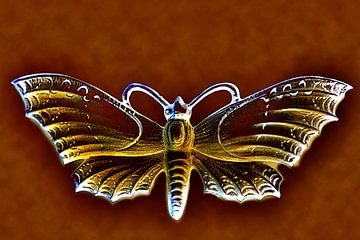 Nachtvlinder van Jolanta Mayerberg
