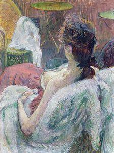 Ruhendes Modell, Henri de Toulouse-Lautrec - 1889