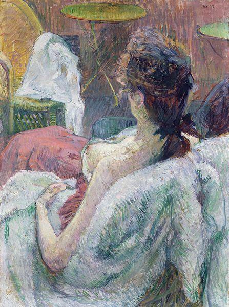 Ruhendes Modell, Henri de Toulouse-Lautrec - 1889 von Het Archief