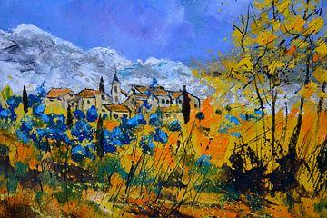 Blaue Blumen in der Provence von pol ledent