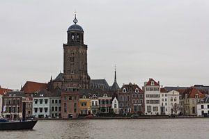 Zicht op Deventer van