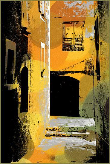 FRANKRIJK spel van zon en schaduw 2 van MY ARTIE WALL