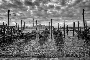 Gondeln in Venedig von De Afrika Specialist