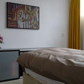 Kundenfoto: Detailorgel - Laurenskerk, Rotterdam von Rossum-Fotografie, auf leinwand