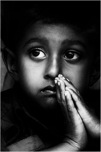 Praying. von Willem Van Toor