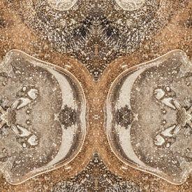 Primitieve uil (ijsstructuur) van Karla Leeftink