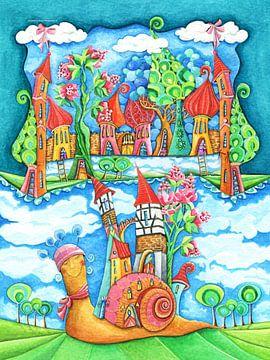 Slakkenhuis - Kunst voor kleine Prinsen en Prinsessen van