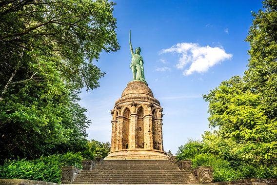 The Hermannsdenkmal in Germany van Günter Albers