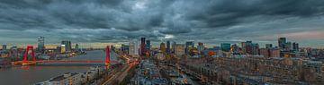 Skyline of Rotterdam van Arisca van 't Hof