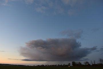 One cloud in the sky van Johanna Varner