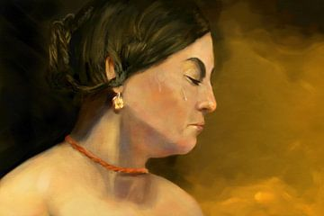 Maria Magdalena, meine Version von Jan Brons