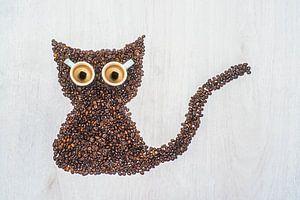 Meow, I'm a coffee cat.