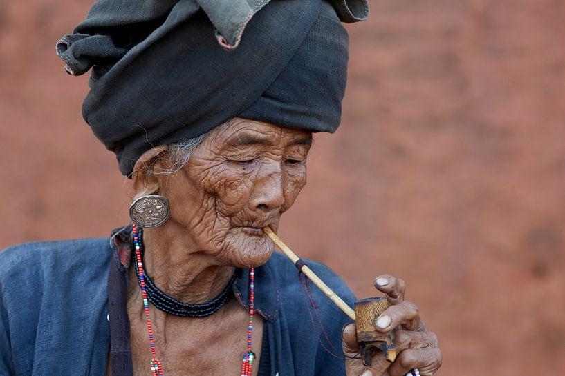 Frau, Keng Tung, Myanmar (Burma) von Jeroen Florijn
