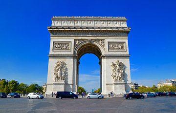 Arc de Triomphe (Kleur) - Parijs, Frankrijk van