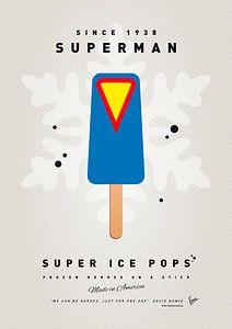 My SUPERHERO ICE POP - Superman