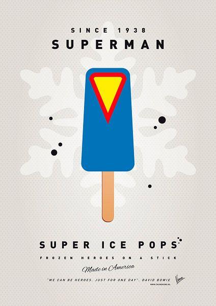 My SUPERHERO ICE POP - Superman von Chungkong Art