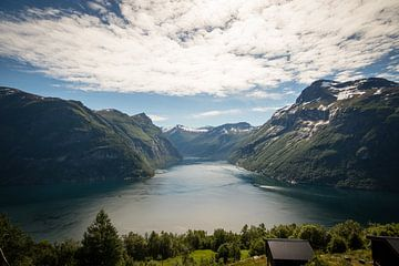 Geirangerfjord in Norwegen von Marcel Alsemgeest