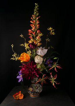 Blumenstilleben im Barockstil von simone swart