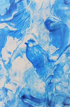 Blaue Vögel von Nina IoKa