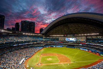 Rogers Centre tijdens zonsondergang van Stephan Neven
