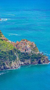 Corniglia, een van de dorpjes van Cinque Terre (Italië) van Jessica Lokker
