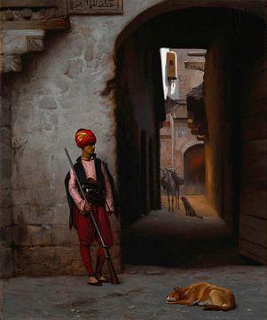 La Garde, Jean-Léon Gérôme