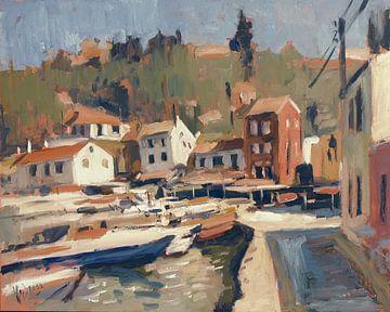 Hafenfront Loggos von Nop Briex