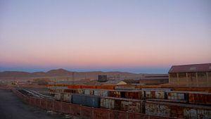 'Eindstation', Salar de Uyuni- Bolivia