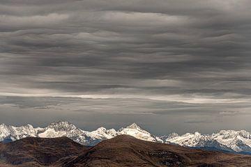Uitzicht vanaf de Seceda in de Dolomieten